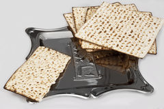Matza  for passover celebration Royalty Free Stock Photos