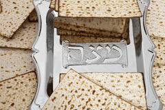 Matza  for passover celebration Stock Photography