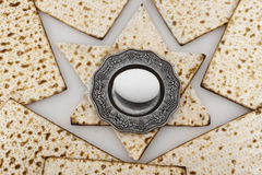 Matza  for passover celebration Royalty Free Stock Images