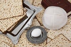 Matza  for passover celebration. Matza bread for passover celebration Royalty Free Stock Photography
