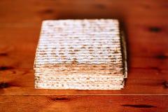 Matzah, еврейская еврейская пасха стоковое фото rf