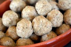 Matzah balls Stock Photos