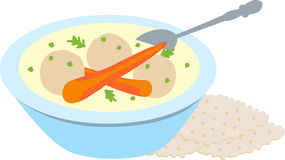 Matzah Balls Stock Photography