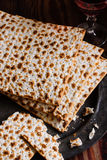 Matzah Crackers Royalty Free Stock Photo
