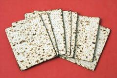 Matzah. crunchy bread Stock Images