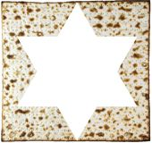 Matzah and magendavid Stock Image