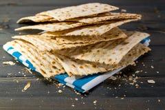 Matzah, matza, matzo, unleavened bread Stock Photography
