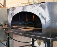 Matzah-Ofen Stockfoto