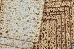 Matzah på gladlynt feriepesah för pesah royaltyfri foto
