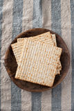 Matzah - Unleavened Bread for Passover Royalty Free Stock Images