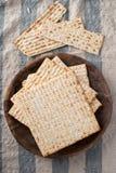 Matzah - Unleavened Bread for Passover Royalty Free Stock Photo