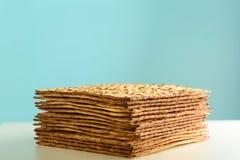 Matzah For Passover. stock photo