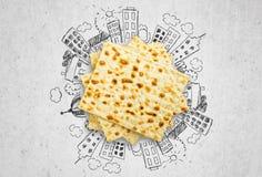 Matzahs. Jewish passover matzah isolated. Jewish jew passover matza matzahs background holiday Stock Images