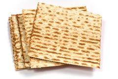 Matzo. Pieces for celebrating Jewish Passover royalty free stock photo