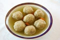 Matzo ball soup Royalty Free Stock Photo