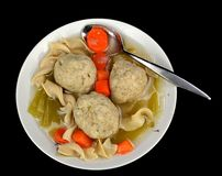 Matzo ball soup Royalty Free Stock Photo