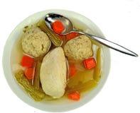 Matzo ball soup Stock Image