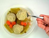 Matzo ball soup Royalty Free Stock Photos