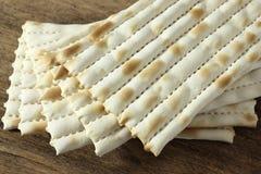 Matzo bread. Jewish passover food Royalty Free Stock Photography