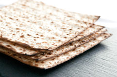 Matzo flat bread Royalty Free Stock Image