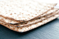 Matzo flat bread Royalty Free Stock Images