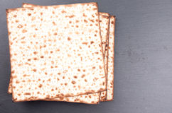 Matzo flat bread Royalty Free Stock Photography