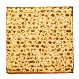 Matzo isolated on white Royalty Free Stock Photos
