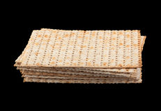 Matzo jewish bread Stock Photos