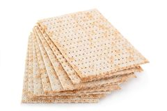 Matzo jewish bread Stock Images
