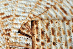 Matzo for Jewish Holiday Passover Stock Photography
