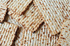 Matzo for Jewish Holiday Passover Stock Images