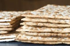 Matzo Jewish Passover bread Royalty Free Stock Photography