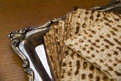 Matzo - Jewish Passover bread Stock Images