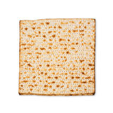 Matzo for passover holiday isolated on white background Royalty Free Stock Image