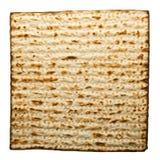 Matzo. Single Matzo traditional Jewish Passover bread Royalty Free Stock Images