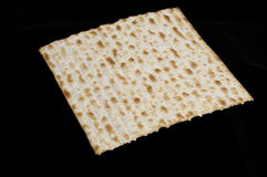 Matzo slice square Royalty Free Stock Images