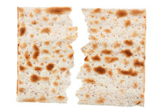 Matzo traditional jewish bread Stock Image