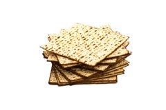 matzoh (еврейский хлеб еврейской пасхи) Стоковая Фотография