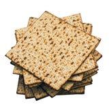 matzoh (еврейский хлеб еврейской пасхи) Стоковое фото RF