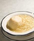 Matzoh ball soup Royalty Free Stock Photos