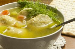 Matzoh Ball Soup Royalty Free Stock Photo