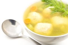 Matzoh Ball Soup Stock Images