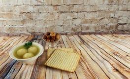 Matzoh ball soup matzo Matzah Royalty Free Stock Photo