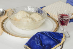Matzoh Ball Soup Stock Image