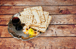 Matzoh jewish passover bread torah Royalty Free Stock Photos