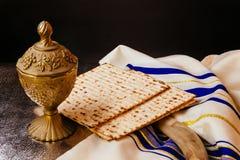Matzoh jewish passover bread torah Stock Photos