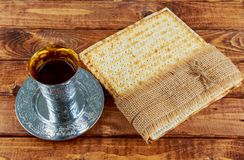 Matzoh jewish passover bread torah Royalty Free Stock Images