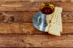 Matzoh jewish passover bread torah Stock Images