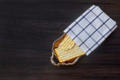 Matzoh jewish passover bread torah Royalty Free Stock Image
