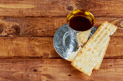 Matzoh jewish passover bread torah. Passover jewish matzoh bread holiday matzoth celebration Stock Images